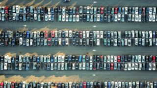 東京モーターショー駐車場