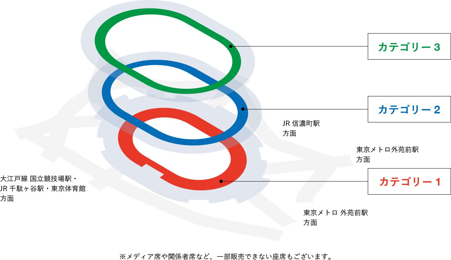 新国立競技場観客席マップ